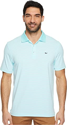 Vineyard Vines Golf - Performance Porter Stripe Polo