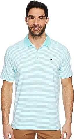Vineyard Vines Golf - Performance Porter Stripe Polo