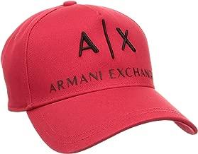 Armani Exchange Men's Logo Hat, Black, One Size