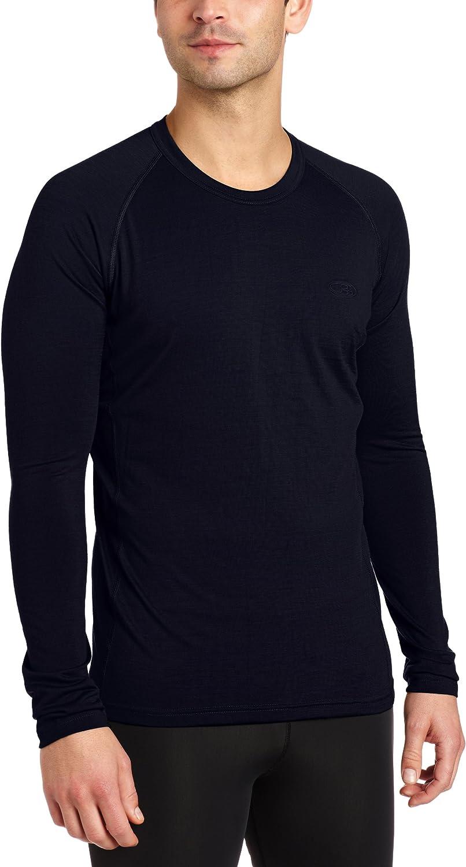 Icebreaker Oasis Crewe BF200 Men's Long-Sleeved Shirt