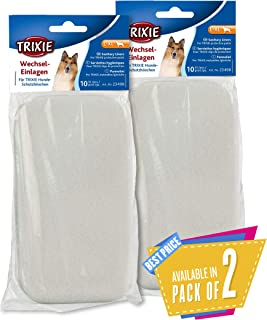 Trixie Pads for Protective Pants, 10pcs (L-XL) Pack of 2