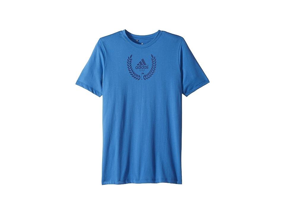 Image of adidas Golf Kids Graphic T-Shirt (Big Kids) (Trace Royal) Boy's T Shirt