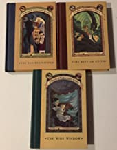 3 Books! #1,#2,#3 ! 1) The Bad Beginning 2) The Reptile Room 3) The Wide Window (A Series of Unfortunate Events)