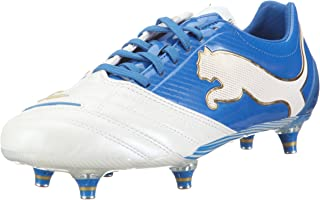 Puma PowerCat 1.12 SG Mens Leather Soccer Boots / Cleats
