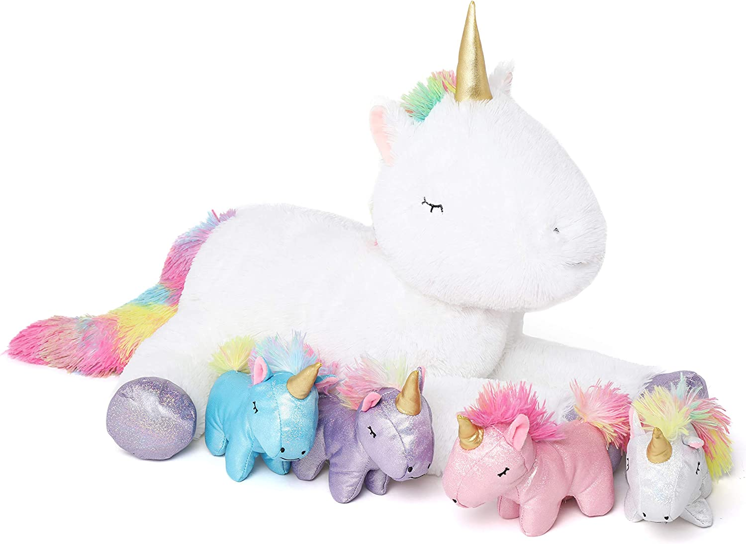DOLDOA Stuffed Unicorn Animal Ranking TOP3 wi Girls Industry No. 1 Mommy for