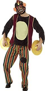 Men's Deluxe Clapping Monkey Toy Costume
