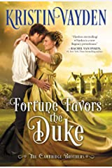 Fortune Favors the Duke: A Sweet and Sparkling Regency Romance (Cambridge Brotherhood Book 1) Kindle Edition