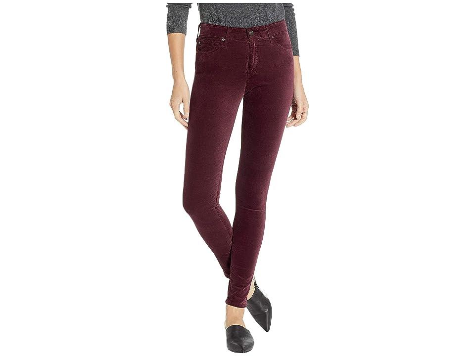 Image of AG Adriano Goldschmied Farrah Skinny in Rich Carmine (Rich Carmine) Women's Jeans