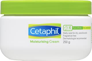 Cetaphil Moisturising Cream for Dry/Sensitive Skin, 250g