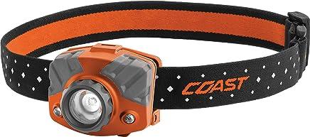 Coast FL75R Rechargeable Focusing 530 lm LED Headlamp, Orange