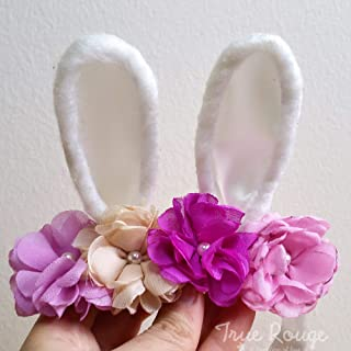 Bunny Ears Headband/Flower Crown
