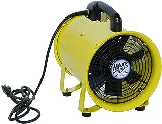 MaxxAir HVHF 08FAN Heavy Duty 8-Inch Cylinder 900 CFM Blower Fan