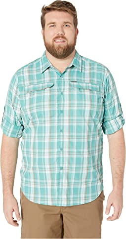 Big and Tall Silver Ridge 2.0 Plaid Long Sleeve Shirt