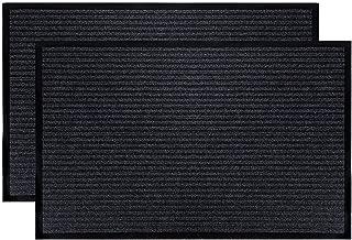 Fasmov Indoor Outdoor Entrance Rug Floor Mats Shoe Scraper Doormat,17.7