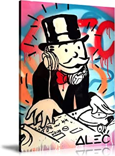 ALEC Monopoly HD Printed Oil Paintings Home Wall Decor Art On Canvas DJ Monopoly 24x36inch Unframed