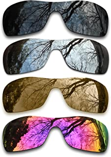 ToughAsNails Set of 4 Polarized Replacement Lenses for Oakley Antix Pack-BSBM3