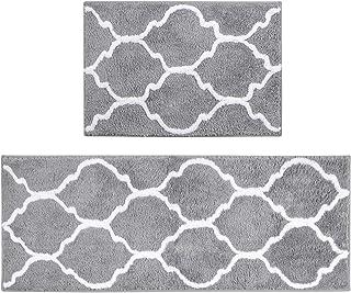 U'Artlines 2Pcs Doormat Area Rugs Microfiber Decorative Non Slip Floor Mat Machine..