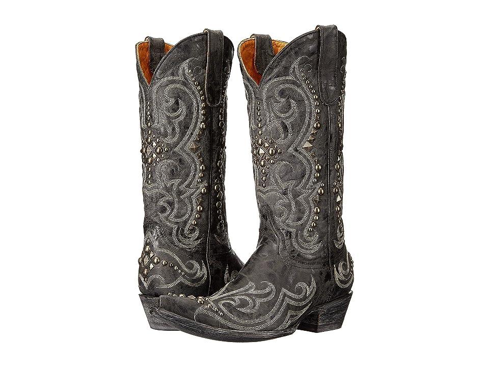 Old Gringo Dolce Stud (Black) Cowboy Boots