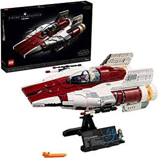 LEGO Star Wars A-Wing Starfighter 75275 Building Kit; Collectible Building Set for Adults; Makes a Cool Birthday for Star ...