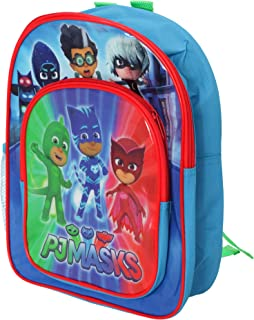 PJ Masks Boys Duo Compartment Rucksack