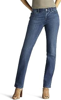 Women's Petite Flex Motion Regular Fit Straight Leg Jean