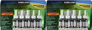 Best Kirkland Aller-Flo Fluticasone Propionate (Glucorticoid) 5 Bottles x 120 Metered Sprays .54 Fl OZ per Bottle (15.84 mL x 5) 2.70 OZ Total (79.0 mL Total) 600 Total Sprays Total Pack of 2 Review