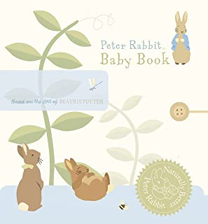 Peter Rabbit Naturally Better Baby Book (US)