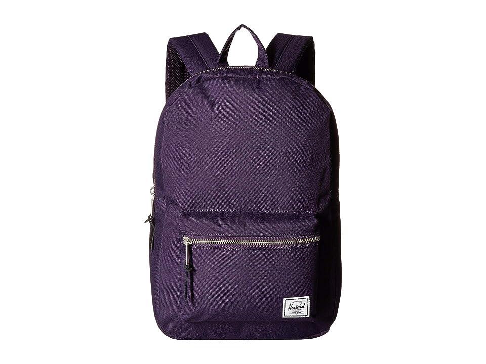 Herschel Supply Co. Settlement Mid-Volume (Purple Velvet) Backpack Bags