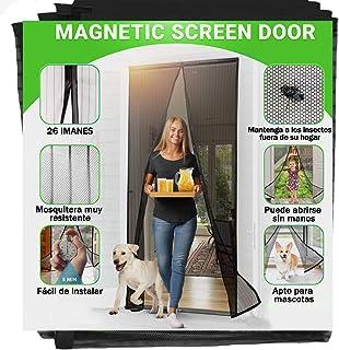 Jellas Mosquitera Magnética - Se Adapta a Puertas de hasta