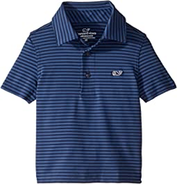 affadfa8 Kennedy Stripe Sankaty Perf Polo (Toddler/Little Kids/Big Kids). 8. Vineyard  Vines Kids