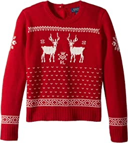 Polo Ralph Lauren Kids - Reindeer Sweater (Little Kids/Big Kids)
