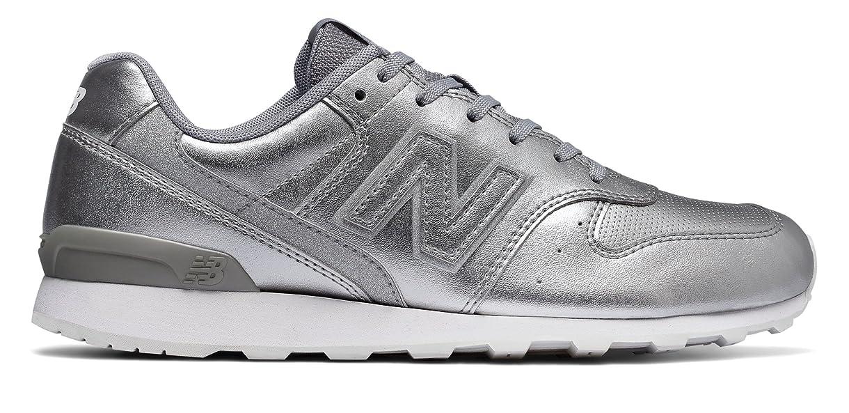 私たち重要なグリル(ニューバランス) New Balance 靴?シューズ レディースライフスタイル 696 Metallic Silver メタリック シルバー US 11.5 (28.5cm)