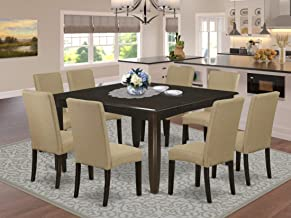 Amazon Com 8 Seat Square Dining Table