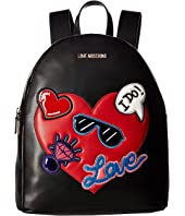 LOVE Moschino - Patches Backpack