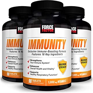 Force Factor Immunity 90ct 3-Pack, 270 Count