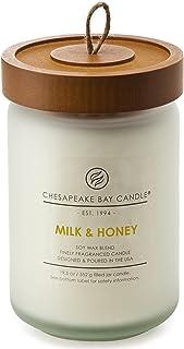 شمع معطر Chesapeake Bay شمع ، شیر و عسل ، شیشه بزرگ ،