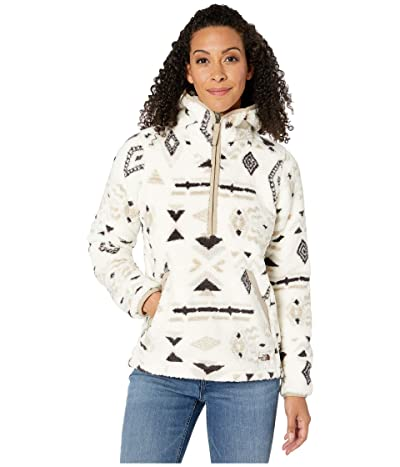 The North Face Campshire Pullover Hoodie 2.0 (Vintage White California Geo Print) Women