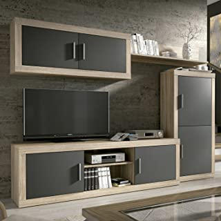 Amazon.es: muebles tv salon madera
