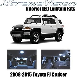 XtremeVision Interior LED for Toyota FJ Cruiser 2008-2015 (4 Pieces) Cool White Interior LED Kit + Installation Tool