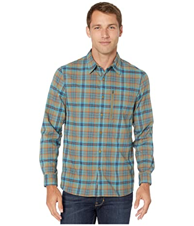 Royal Robbins Thermotech Ren Plaid Long Sleeve (Fiddlehead) Men