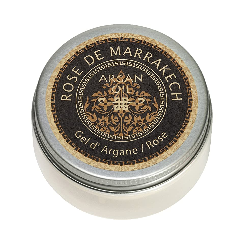 質素なすでに誓うローズ ド マラケシュ ジェル ド アルガン-ローズ 40g