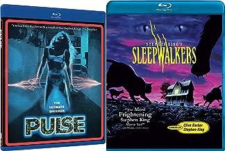 Stephen King Sleepwalkers + Pulse Shock horror Blu-ray Collection 2 Movie Bundle Set