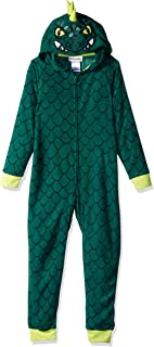 8029f1c30 Komar Kids Boys Plush Velour Fleece Hooded Blanket Sleeper Pajama Wearable  Blanket
