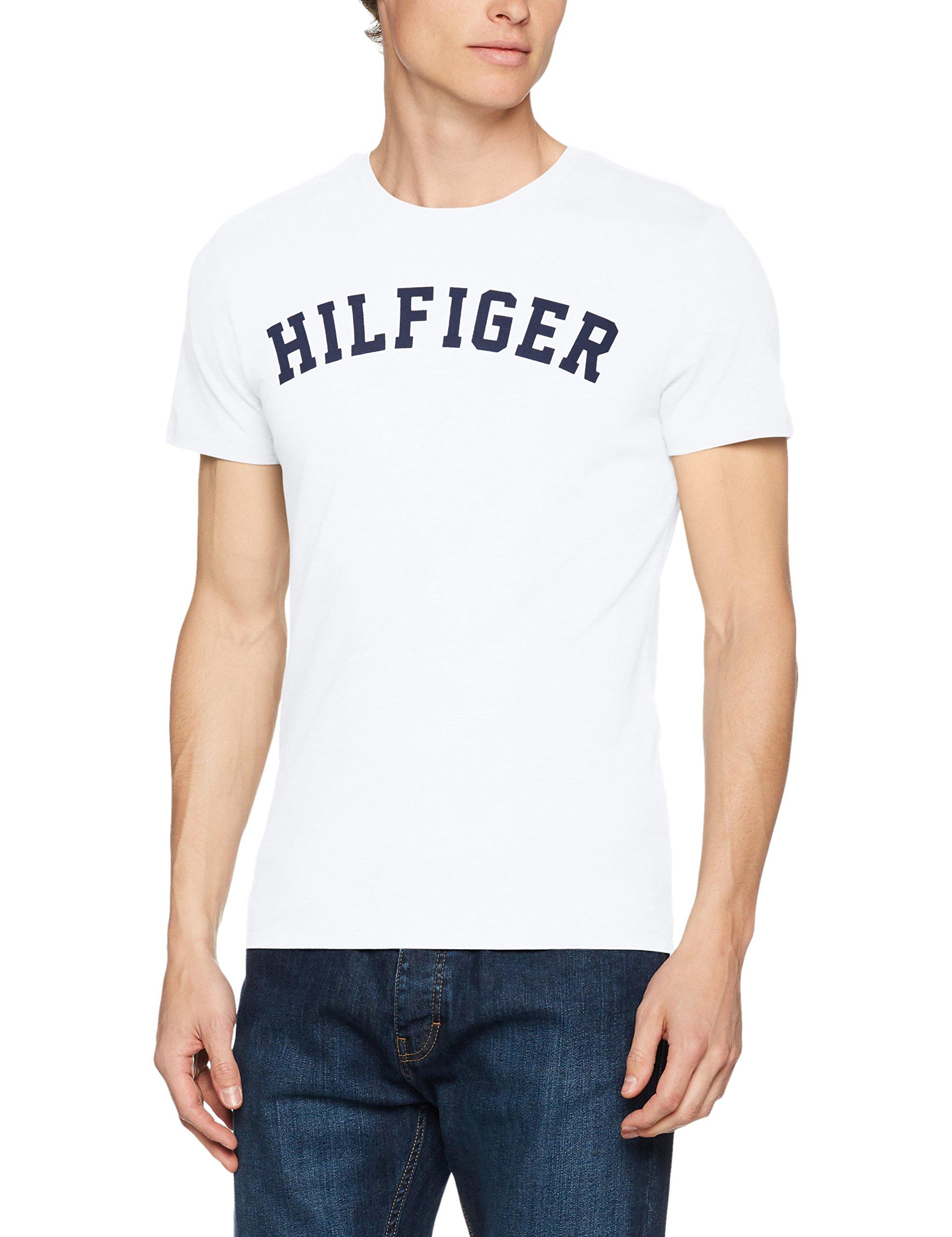 TOMMY HILFIGERメンズSS TシャツロゴTシャツ