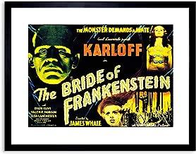 The Art Stop Movie Film Sequel Bride Frankenstein Karloff Whale Horror Framed Print F97X4132