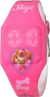 Nickelodeon Girls' Analog-Quartz Watch with Rubber Strap, Pink, 16 (Model: PAW4017)