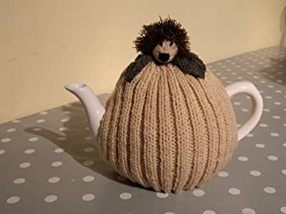 Hand Knitted, Hedgehog Tea Cozy, fits 4-6 cup, tea pot