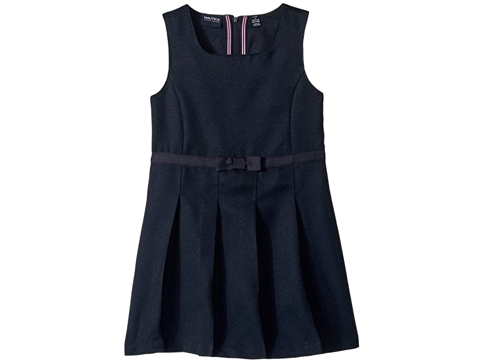 Nautica Kids Square Neck Jumper (Little Kids) (Navy) Girl