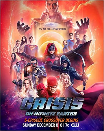 Crisis on Infinite Earths DC Comics Movie Art Silk Poster Film Print 24x36 inch