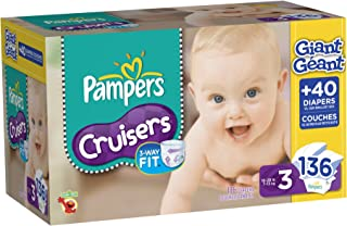 Best pampers swaddlers 136 count size 3 Reviews